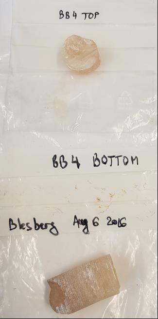 Bohrproben aus BB-4